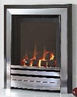 Frontier hearth mounted fascia